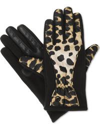Isotoner Signature Matrix Nylon Thermaflex Core Smartouch Tech Gloves