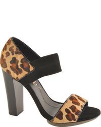 BCBGMAXAZRIA Bcbg Max Azria Nadalya Naturalblack Leopard High Heels