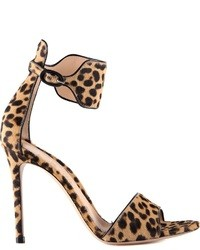 Gianvito rossi leopard printed sandals medium 39101