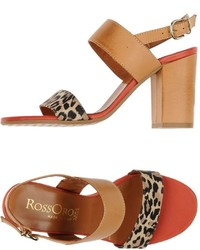 Rosso Oro Sandals