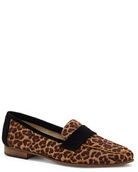 Vince Camuto Elroy 2 Leopard Print Calf Hair Loafers