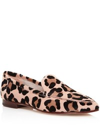 Kate Spade New York Carima Leopard Print Calf Hair Loafers