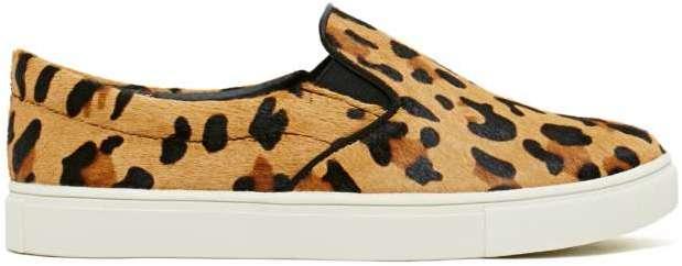 c1b99b68d Nasty Gal Steve Madden Eccentric Pony Hair Sneaker Leopard, $110 ...