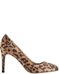 Joe Fresh Leopard Print Pumps Tan