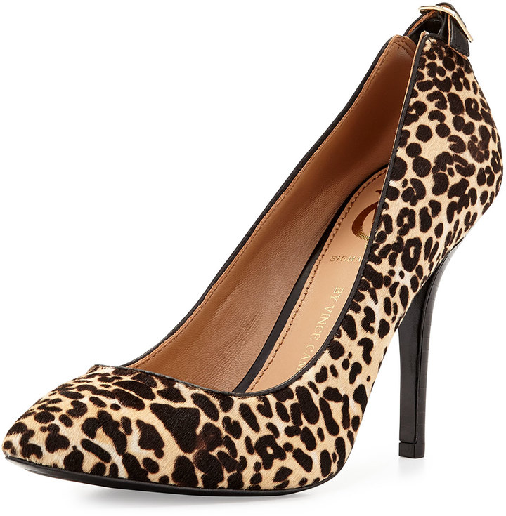 2fa41b48acf2 ... Suede Pumps Vince Camuto Signature Chantilli Snow Leopard Print Point  Toe Pump Leopard ...