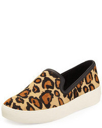 Becker leopard print slip on medium 66276