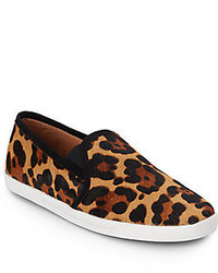 Kidmore leopard print calf hair sneakers medium 325420
