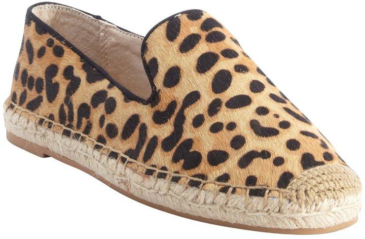 87501ed4f30 ... Steve Madden Leopard Calf Hair Lanii Jute Detail Slip On Sneakers ...