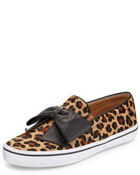 Kate Spade New York Delise Leopard Print Bow Slip On
