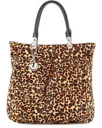 Felicia leopard print tote leopard medium 219290