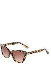 Tan Leopard Sunglasses