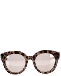 Mirrored leopard sunglassses medium 3665674