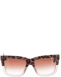 Dolce & Gabbana Printed Gradient Sunglasses