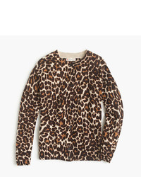 Tan Leopard Sweater