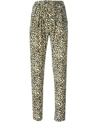 Stella McCartney Leopard Print Trousers