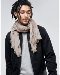 Esprit Lightweight Scarf In Camel