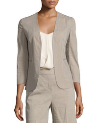 Theory Lindrayia Crunch Wash Blazer