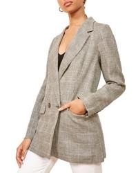 Reformation Valero Oversize Linen Blazer