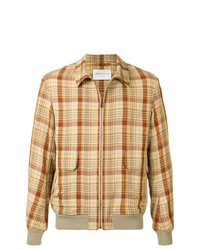 Tan Linen Shirt Jacket