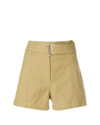 IRO Belt High Waisted Shorts