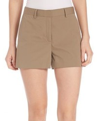 Theory Calila Poplin Shorts