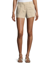 Max Studio Medium Weight Linen Shorts
