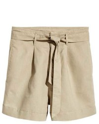 Shorts with tie belt medium 3766163
