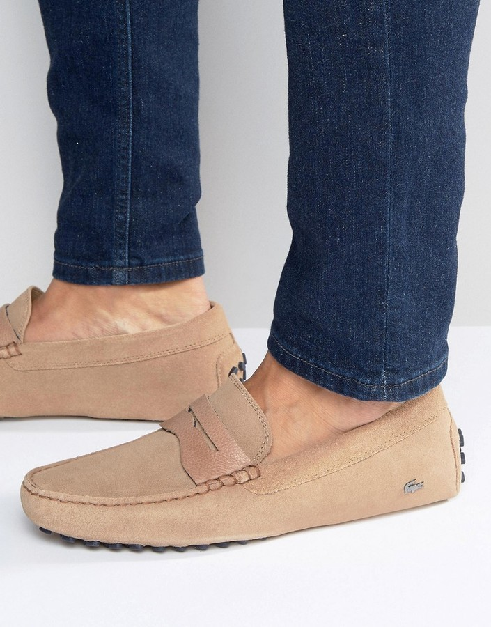 0b30e8ce3d5a01 Men s Fashion › Footwear › Dress Shoes › Loafers › Asos › Lacoste › Tan Loafers  Lacoste Concours Loafers ...