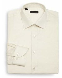 Saks Fifth Avenue Collection Regular Fit Cotton Dress Shirt