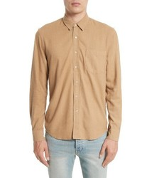 Our Legacy Regular Fit Silk Noil Sport Shirt