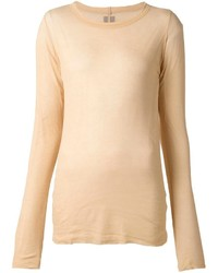 Tan Long Sleeve T-shirt