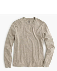 How to Wear a Tan Long Sleeve T-Shirt (1 looks) | Men's Fashion