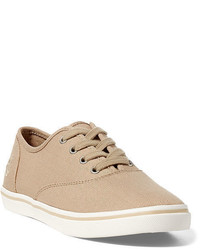Tan low top sneakers original 3694454