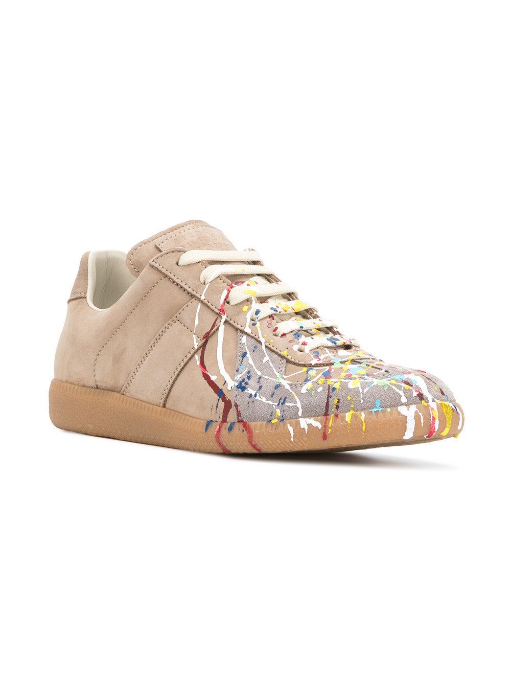 Maison Margiela Paint Splatter Sneakers