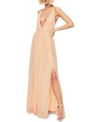 Plunging neck maxi dress medium 4952128