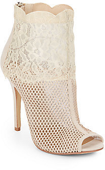 2b630fc7fe Chinese Laundry Jeopardy Mesh Lace Peep Toe Boots, $90 | Off 5th ...