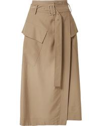 Vince Twill Wrap Skirt