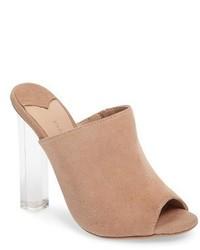 Tony Bianco Kitzy Clear Heel Mule