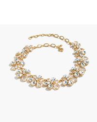 J.Crew Pre Order Magnolia Crystal Necklace