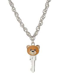 Moschino Teddy Bear Key Necklace