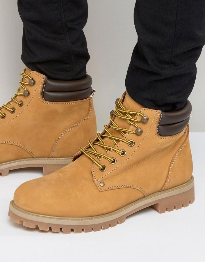 in stock good service online retailer $98, Jack and Jones Jack Jones Stoke Nubuck Boots