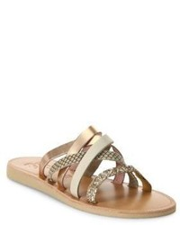 Joie Paxon Glitter Nubuck Sandals