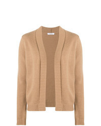 Tan Open Cardigan