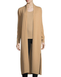 Cashmere collection long cashmere duster cardigan medium 4156504