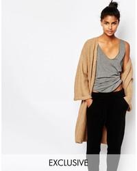 Micha Lounge Kimono Sleeve Ribbed Cardigan
