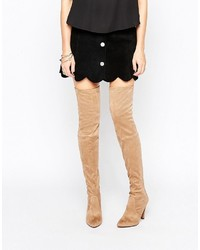 c1adb0595e1 Carvela Wren Heeled Over The Knee Boots