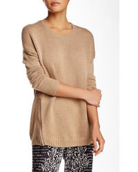 BCBGMAXAZRIA Lora Side Zip Knit Sweater