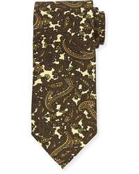 Tom Ford Paisley Print Silk Tie