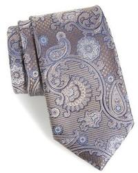 Nordstrom Shop Huntsman Paisley Silk Tie