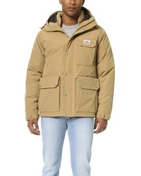 Apex down insulated parka medium 379366
